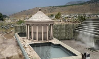 Digital reconstruction of Plutonium  at Hierapolis