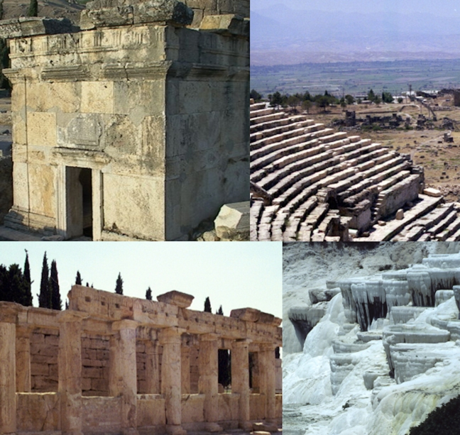 Scenes from Hierapolis. © copyright holder of this work is Richard E. Oster.  Page 56, figure 34.