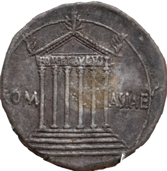 Commune Asiae coin, located in the State Hermitage Museum, St. Petersburg, Russia.  © copyright holder of this work is Richard E. Oster.  Page 72, figure 38.
