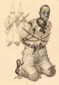 "Sketch of Polish artist Arthur Szyk, 1949.  Entitled, ""Do No Forgive Them, Oh Lord, For They Do Know, What They Do!"""